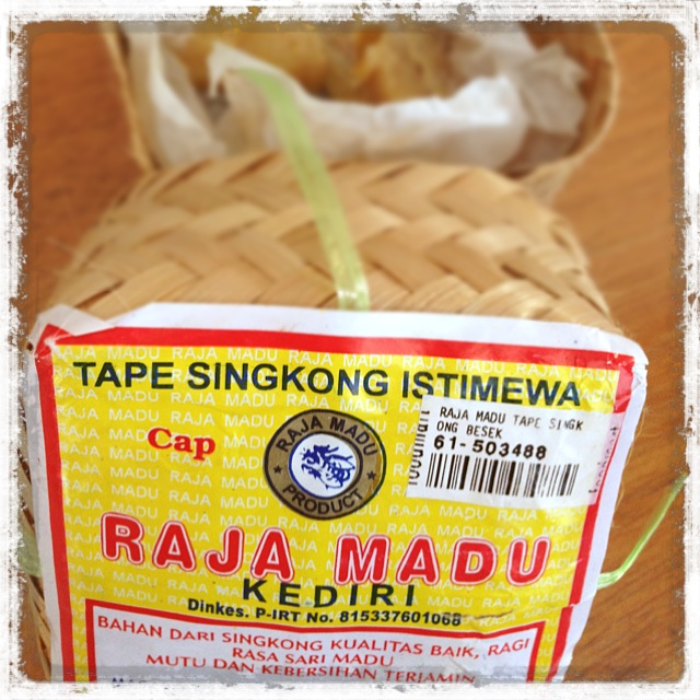 インドネシアの発酵食品_タペ_タロイモ1