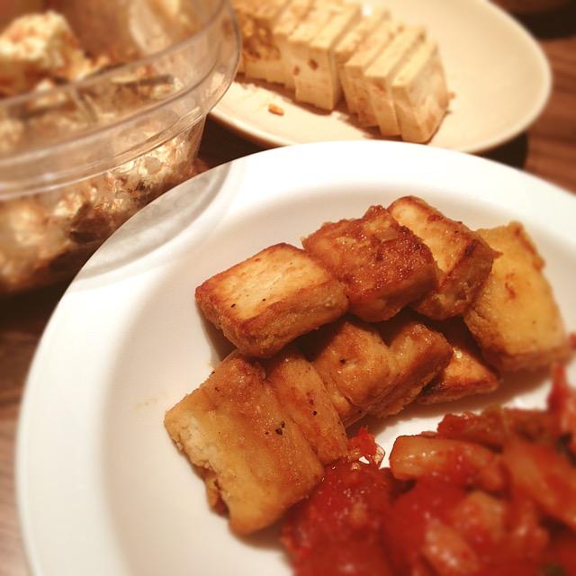 発酵ナイト_焼き発酵豆腐