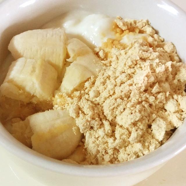 バナナきなこヨーグルト_みんなの発酵レシピ