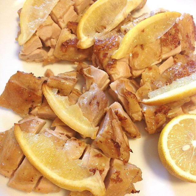 塩麹レモンチキン