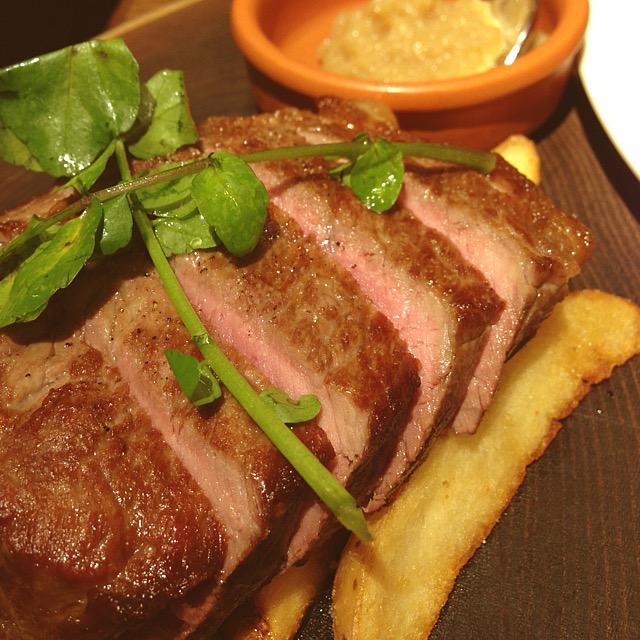 熟成肉ステーキ_熟成肉ビストロ