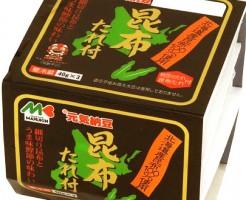 マルキン食品 元気納豆 昆布たれ付_納豆アンケート