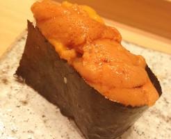 豪華寿司ランチ_うに醤油