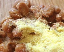 お気にり干し納豆と黄色い粉