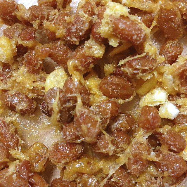 コーンクリーム納豆